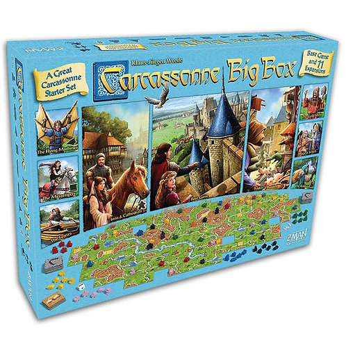 Carcassonne Big Box- All Expansions