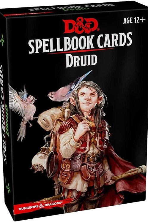 D&D Druid Spellbook Cards