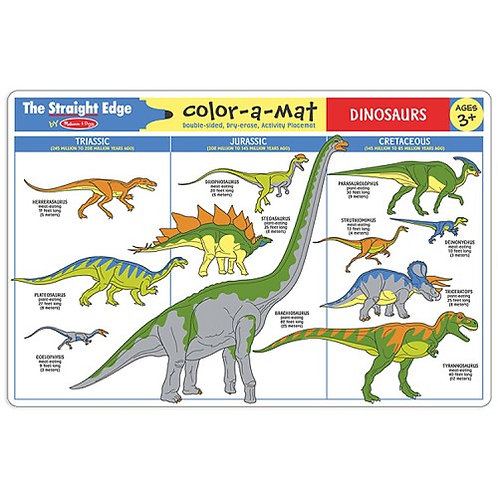 Learning Mat - Dinosaurs
