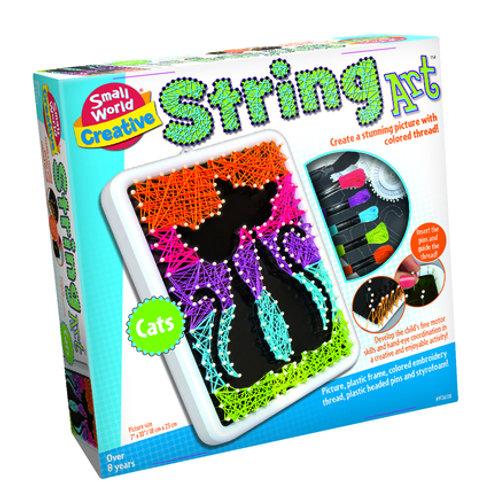 String Art Cats