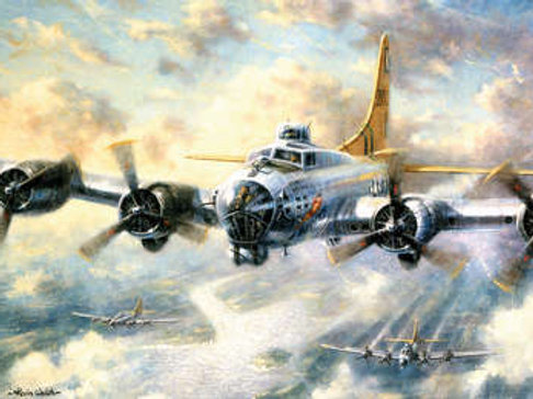 Adult Paint by Numbers - Flying Fortress PAL21
