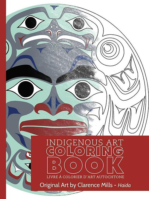 Indigenous Collection Colouring book- Haida