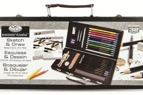 Sketch and Draw Beginners 32pc