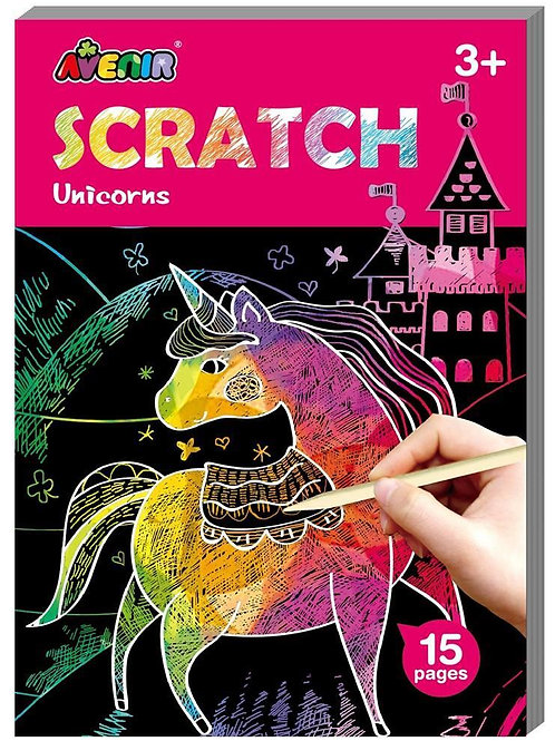 Scratch Art Unicorns
