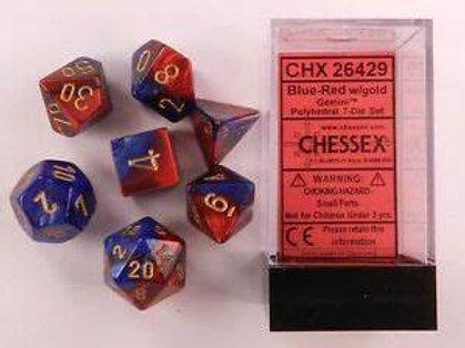 D&D Polyhedral 7-Die 26429