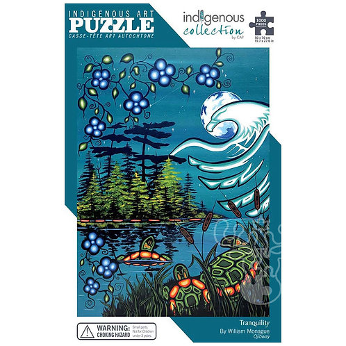 1000pc Indigenous Collection Puzzle- Tranquility