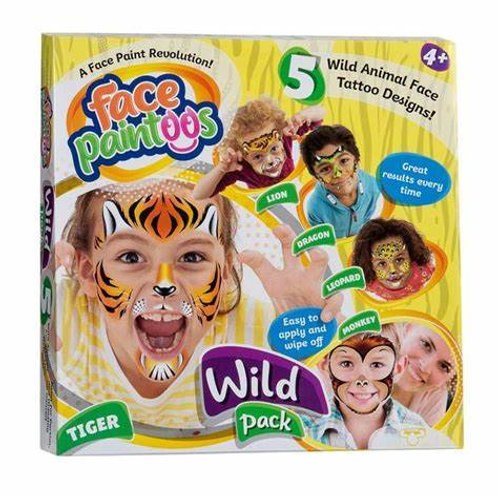 Wild Pack Face Paintoos