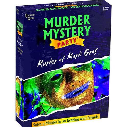 Murder Mystery Party: Murder at Mardis Gras