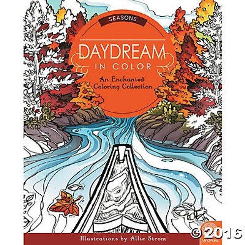 Daydream in Colour Colouring Book