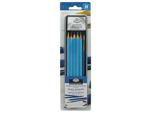 Watercolour Drawing Art Set 8pc