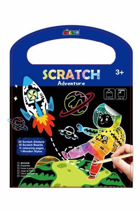 Scratch Art Adventure