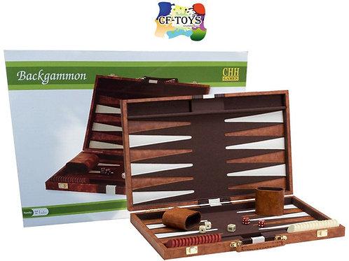 Leather Backgammon Set (Large)
