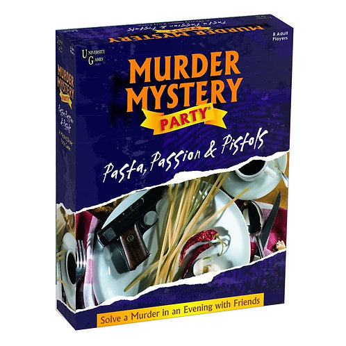 Murder Mystery Party- Passion, Pasta & Pistols