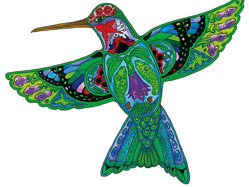Indigenous Collections Notepad- Hummingbird