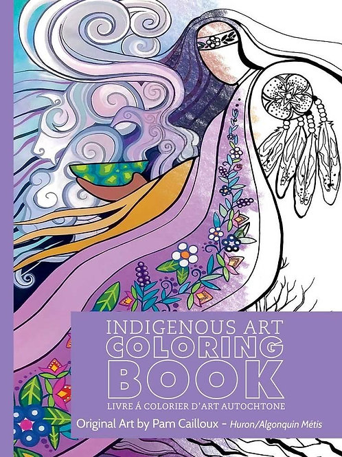 Indigenous Collection Colouring book- Huron