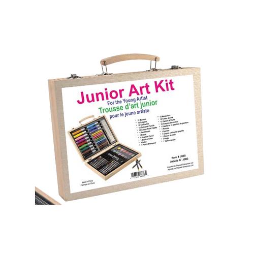 Junior Art Kit 66pc