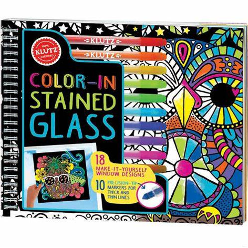 Colour-in Stained Glass