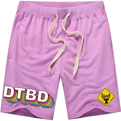 """Deer To Be Different """"Soul"""" Shorts (pink/multi)"""