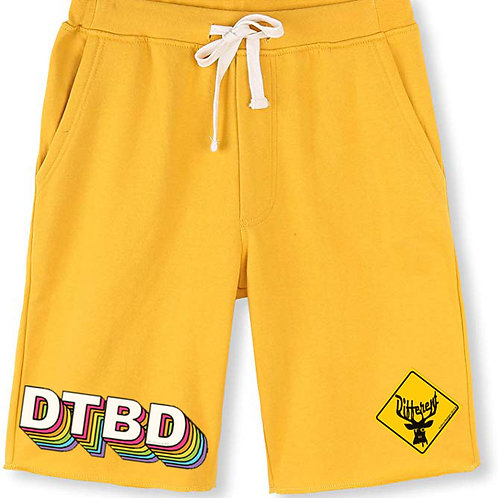 Deer To Be Different Shorts (yellow/multi)