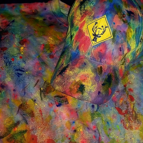 Deer To Be Different Deer Dye Dad Hat (multi)