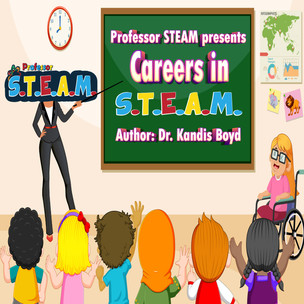 Careers in S.T.E.A.M. (activity book)