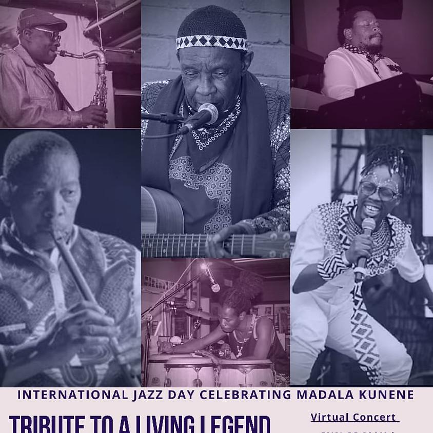International Jazz Day- Tribute to a living legend Madala Kunene