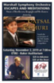 Concert Poster - Vatsal Vermuri 8.26.25