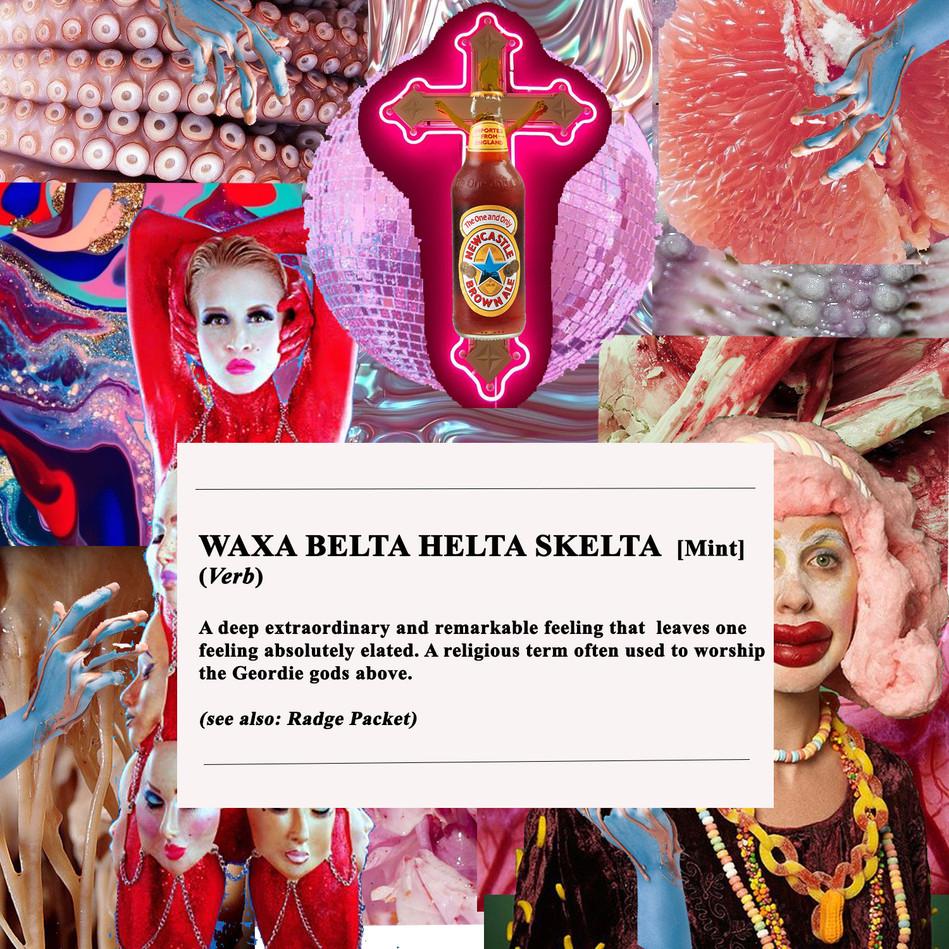WAXA ENGLISH DICTIONARY DEFINITION