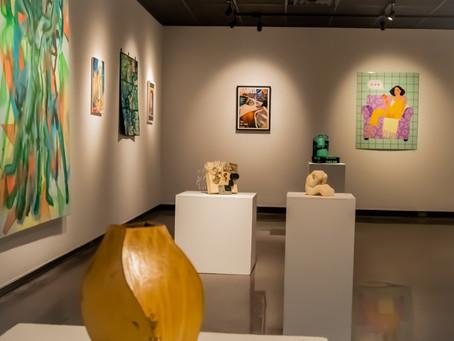 PHOTO ESSAY: Students show stories, lives through art exhibit