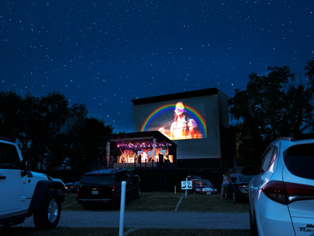 Drive-in spotlights theatre during pandemic