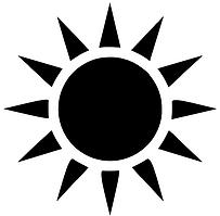 sun clip art .png