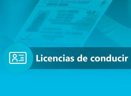 Roldán: Licencias de conducir; prórrogas, cursos virtuales y requisitos para obtenerla