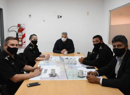 #Funes: Reunión de Seguridad