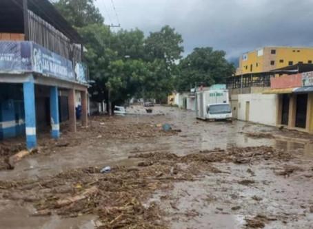 Venezuela: Se desbordó el rio El Limón por fuertes aguas en Aragua