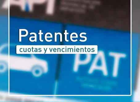 Roldán: Se extienden los vencimientos y moratorias hasta el 28 de Septiembre de patentes automotor.