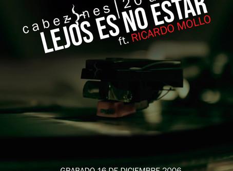 """Cabezones presenta su nueva versión de """"Lejos es no estar"""" con Ricardo Mollo"""