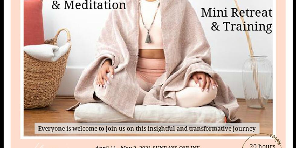 Restorative Yoga and Meditation Training