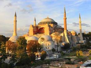 Aya Sofya muzəyi (Ayasofya müzesi ) Türkiyənin İstanbul Şəhəri