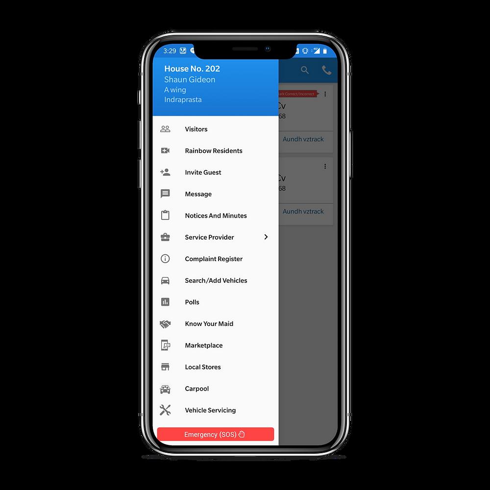 VZTrack Users App
