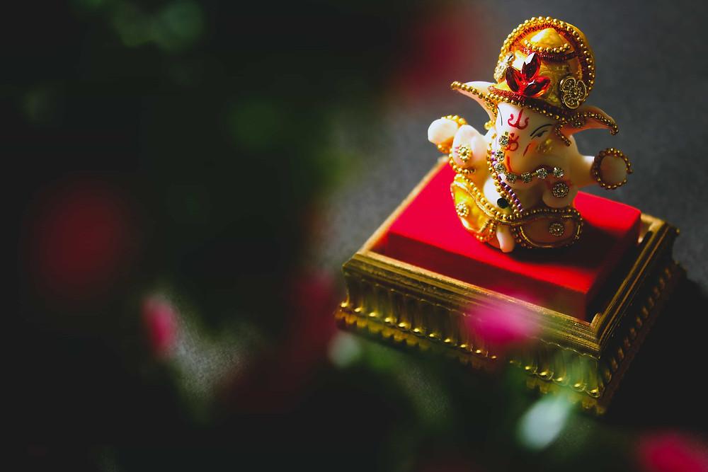 Small Elegant Ganesh Murty in Housing Society