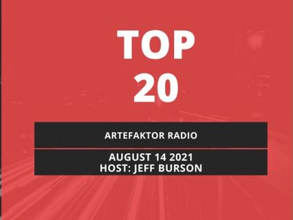 'Disco Wedding' is no. 1 on Artefaktor Top 20!