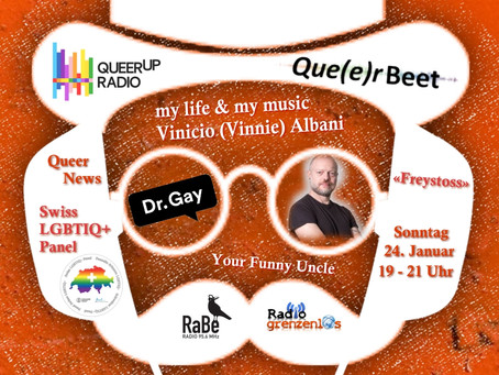 Your Funny Uncle on QueerUp Radio