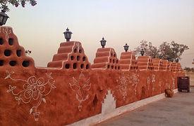 Khuri - Painted homes in desert village