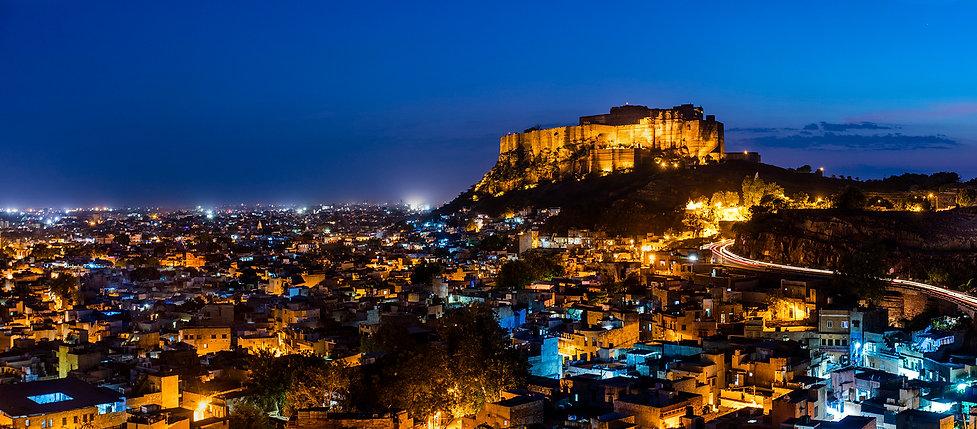 Jodhpur at night - Beauty of India Tours
