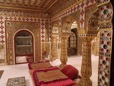 Indian palace in Jaisalmer