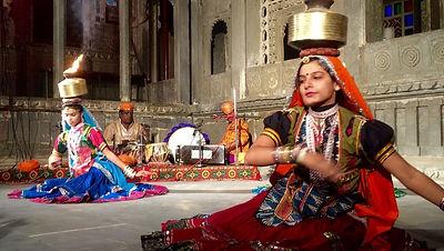 DharoharFolk Dancing evening at Bagore Ki Haveli