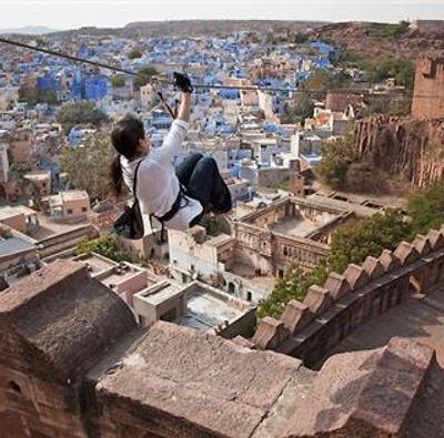 Ziplining in Jodhpur