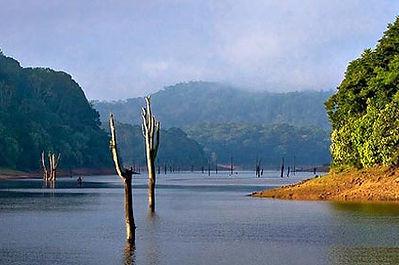 Periyar Lake in Thekkady