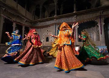 DharoharFolk Dancing at Bagore Ki Haveli