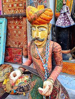 Rajasthani crafts shop